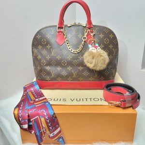 100% Authentic Louis Vuitton Alma PM BA1013